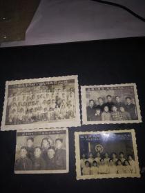 60年代江都中学同一个人的照片4张(尺寸大小不一)