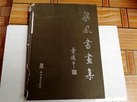 I104760 梁风书画集(书脊、封面有破损)(一版一印)
