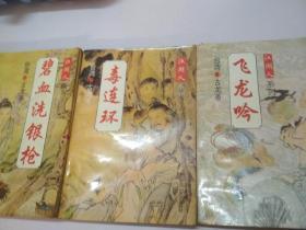 江湖人系列——碧血洗银枪,毒连环,飞龙吟(3本合售)