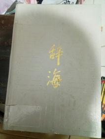 辞海,1989年版,缩印本,巨厚书