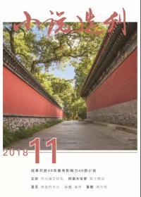 小说选刊 2018年第11期
