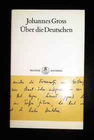 原版书 Über die Deutschen / Gebundenes 1993 von Johannes Gross (Autor)