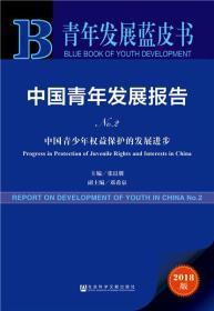 青年发展蓝皮书:中国青年发展报告(No.2中国青少年权益保护的发展进步2018版)
