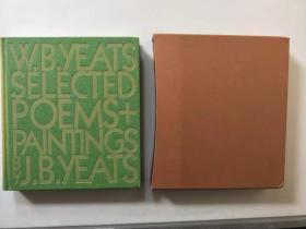 1998年W B Yeats Selected Poems 《葉芝詩集》 Folio society 布面精裝 帶書匣