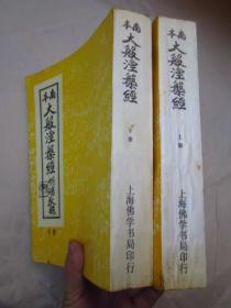 《南本大般涅槃经》【上下册】【16开本.全两厚册 2062页】品相以图为准——免争议