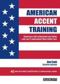 American Accent Training: With Downloadable Audio, 4th Edition 英文原版 美语发音秘诀 新版 第四版 美语口音训练书