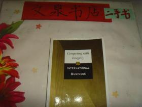 英文原版《competing with  integrity  in international business》