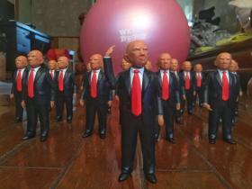 特朗普手办、特朗普军团 美国总统 玩具