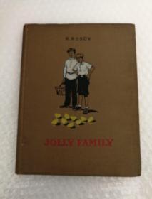 JOLLY FAMILY N.NOSOV 精装精美插图外文书