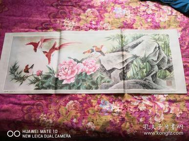 鸟语花香字画