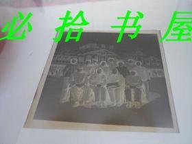 老底片  老沈阳火车站前集合影 2