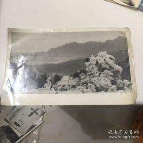 井冈山雪景照片