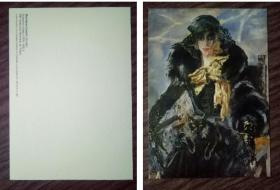 外国明信片,英国原版,美术绘画,品如图