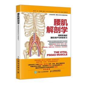 腰肌解剖学 缓解疼痛的腰肌保护与修复练习 健身书籍 运动恢复腰伤矫正体态运动损伤的预防与治疗运动解剖学图谱精准拉伸训练  9787115476791