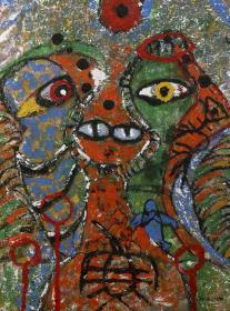 著名藝術家 蔡桂芹 2018年布面油畫作品一幅 已繃框(尺寸:80*60cm;作品由《中國美術市場報》直接得自于藝術家本人)HXTX110969