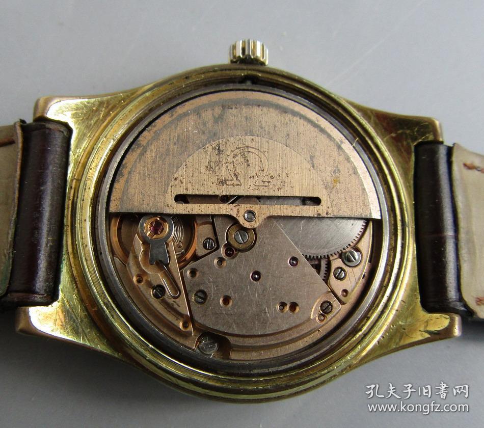 欧米茄1022包金自动机械男古董表图片
