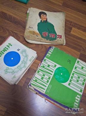 老唱片69张【3张厚的】【51张小的】【15张薄的】