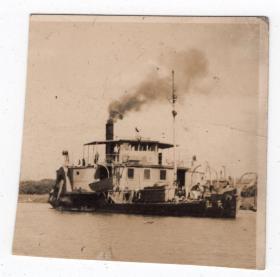 民国报纸图片类----民国原版老照片--1930年前后时间,天山轮船