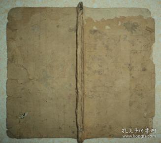清代手抄本、【医书】、前面抄的是医书、后面抄的是针灸吉日、炼丹点黄等等、很杂少见
