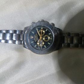 手表,腕表:ROLEX(劳力士)orster perptual day-date 表盘有三个小的指示盘
