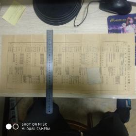 台山县立师范学校民国20年度第1学期行政历(总务、教务、训育方面工作的时间安排)