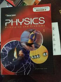 GLENCOE SCIENCE PHYSICS PRINCIPLES AND PROBLEMS  1【书内页稍微有字迹;如图】