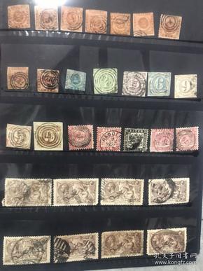古典邮票高值票任选