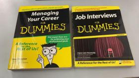 Managing Your Career FOR DUMMIES+Job Interviews FOR DUMMIES