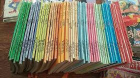 32开 老卡通漫画  海南版 乱马½  卷一---卷八 卷十----卷十二 都是成套的 各5本全  其中 卷四 卷十 各两套  卷十二 多2 共计 66本合售    私藏品好