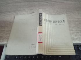 天津犯罪问题调查文集