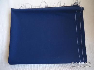 蓝色毛料一块全新未使用