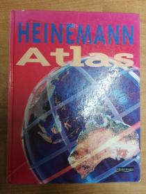 Heinemann Atlas  海涅曼地图集(小八开精装 英文版地图册)