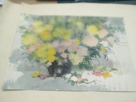 方润秋先生五至60年代水彩画之七