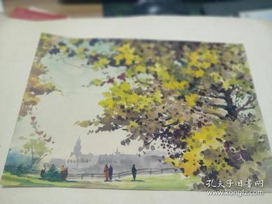 方润秋先生五至60年代水彩画之八