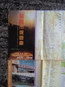韶关市旅游图