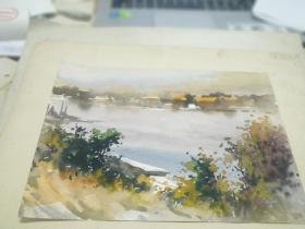 方润秋先生五至60年代水彩画之十三