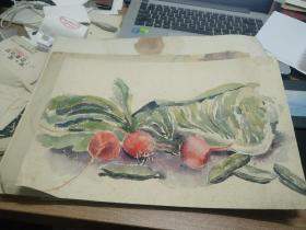 方润秋先生五至60年代水彩画之二十二