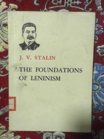 斯大林论列宁主义基础  英文版