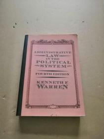 英文原版administrative law in the political system(fourth edition)签赠本