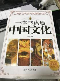 正版现货! 一本书读通中国文化(最新版)9787502180508