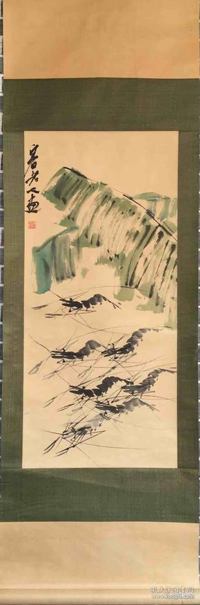 齐白石   国画      纯手绘     工艺品