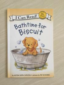 Bathtime for Biscuit (My First I Can Read)[小饼干的洗澡时间]