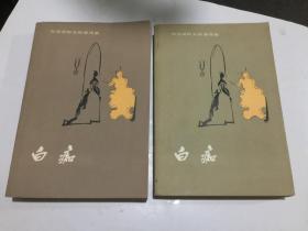 陀思妥耶夫斯基选集——白痴(上下全,人民文学出版社,1982年3印)