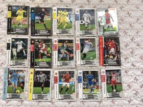 卡片:〈足球特殊能力卡15张合售〉不重复