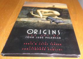 2手英文 Origins: The Art of John Jude Palencar