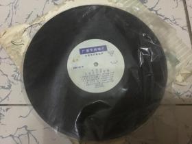 黑胶木唱片  公社日子万年春