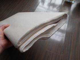 老纸头【双星牌,洁白玉版三尺特净,宣纸99张】尺寸:98.5×49.5厘米