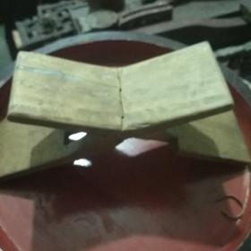 潮州木雕   飞机枕又名鲁班枕