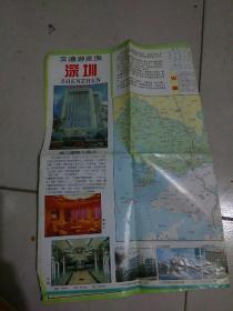 深圳交通游览图