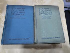 STANDARD POSTACE STAMP CATALOGUE 斯科特标准邮票目录(两册全)